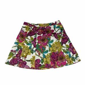 Lane Bryant vibrant floral spring skirt SIZE 20